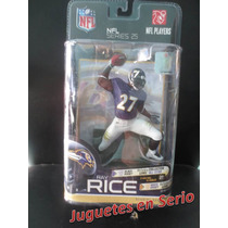 Mcfarlane Nfl - Ray Rice De Los Cuervos Baltimore Serie 25