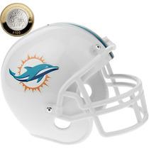 Casco Nfl Alcancia Delfines De Miami Dolphins Football Nfl02