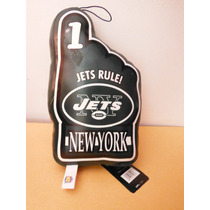 Peluche Nfl Football New York Jets Toy Number One Hand Mano