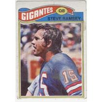 1977 Topps Mexican Steve Ramsey Gigantes De Nueva York Qb