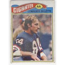 1977 Topps Mexican Walker Gillette Gigantes De Nueva York Wr