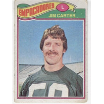 1977 Topps Mexican Jim Carter Empacadores De Green Bay