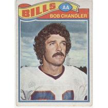 1977 Topps Mexican Bob Chandler Bills De Buffalo