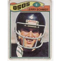 1977 Topps Mexican Terry Schmidt Osos De Chicago