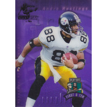 1997 Playoff First & Ten Kickoff Andre Hastings Wr Steelers