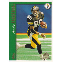 1997 Topps Minted In Canton Andre Hastings Wr Steelers