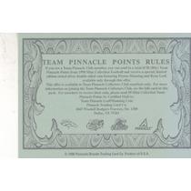 1998 Pinnacle Team Points 1 John Elway Qb Broncos