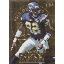 1995 Fleer Ultra Gold Medallion Mark Seay Wr Chargers