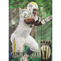 1995 Fleer Ultra Td Kings Natrone Means Rb Chargers