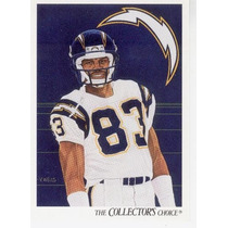 1991 Upper Deck By Artist Anthony Miller San Diego Chargers