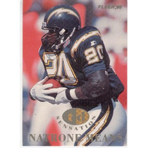 1995 Fleer Td Sensations Natrone Means San Diego Chargers