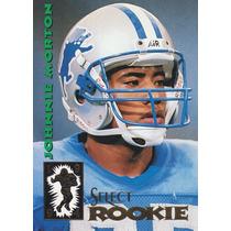 1994 Select Rookie Johnnie Morton Wr Lions