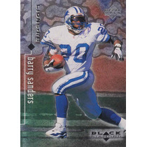 1998 Ud Black Diamond Barry Sanders Rb Lions
