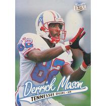 1997 Fleer Ultra Rookie Derrick Mason Wr Titans