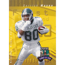 1997 Playoff First & Ten Rookie Derrick Mason Wr Titans