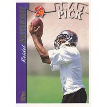 1997 Topps Draft Pick Rookie Reidel Anthony Wr Buccs