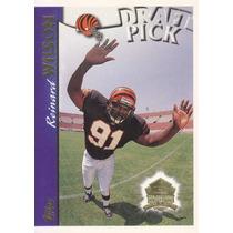 1997 Topps Minted In Canton Draft Pick Rookie Reinard Wilson