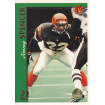 1997 Topps Minted In Canton Jimmy Spencer Cb Bengals