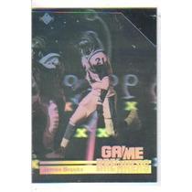 1991 Upper Deck Game Breaker Holograms #gb8 James Brooks