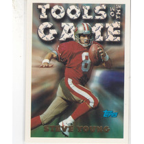 1994 Topps Tools Of The Game Steve Young Qb 49ers