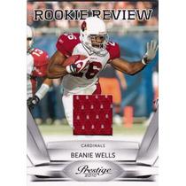 Beanie Wells Tarj C Jersey Cardinals Prestige 2010 Rnt