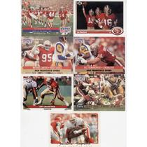 7 Tarjetas Diferentes San Francisco 49ers Lote 510