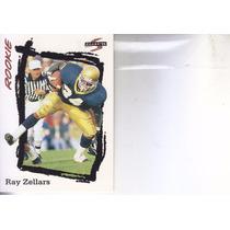 1995 Score Rookie Ray Zellars Rb Saints