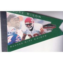 1998 Playoff Contenders Pennants Green Felt Andre Rison Wr