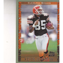 1999 Topps Dp Rookie Kevin Johnson Wr Browns