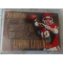 Joe Montana Insert Living Legends $12dls Fleer1994 49ers Rnt