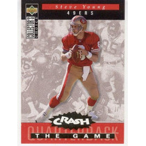 1994 Col Choice Crash The Game Gold Steve Young 49ers