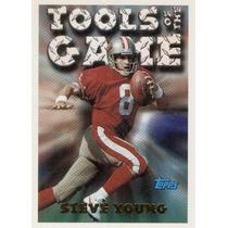 1994 Topps Tools Of The Game Steve Young San Francisco 49ers