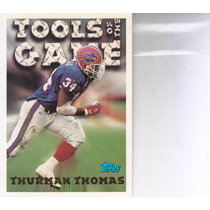 1994 Topps Tools Of The Game Thurman Thomas Rb Bills