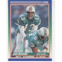 1990 Score Dan Marino Miami Dolphins