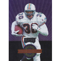 1996 Playoff Unsung Heroes Bernie Parmalee Rb Kr Dolphins