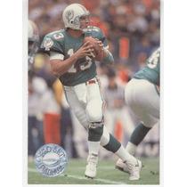 1991 Pro Set Platinum Dan Marino Miami Dolphins