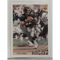 1992 Upper Deck #364 Chris Miller Mvp Halcones De Atlanta
