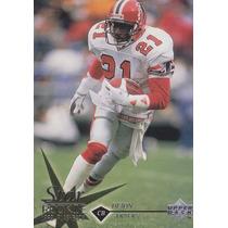 1997 Upper Deck Star Rookie Deion Sanders Cb Falcons