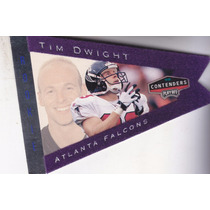 1998 Playoff Contenders Pennants Purple Felt Rc Tim Dwight