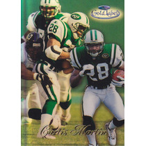 1998 Topps Gold Label Black Curtis Martin Rb Jets