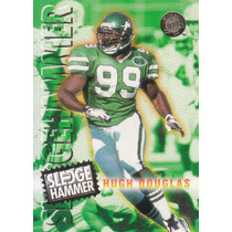 1996 Fleer Ultra Sledge Hammer Hugh Douglas Jets