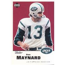 1999 Upper Deck Retro Don Maynard Wr Jets