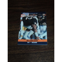 Nfl Fan_bears_set 8 Tjas William Perry Nvas No Repetidas