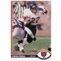 1991 Upper Deck Johnny Bailey Chicago Bears