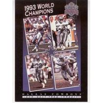 1993 Skybox Premium Poster Cards Cowboys Team