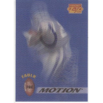 1995 Sportflix Pro Motion Marshall Faulk Colts P M 10