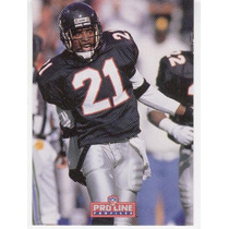1992 Pro Line Profiles Deion Sanders Falcons 8 De 9