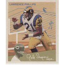 1997 Fleer Goudey I I Gale Sayers Says Lawrence Philips