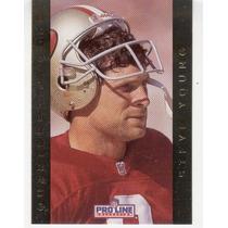 1992 Pro Line Quarterback Gold Steve Young 49ers