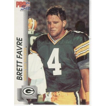 1992 Pro Set Brett Favre Green Bay Packers